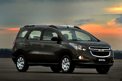 2013 Chevrolet Spin Minivan Release Date, Redesign & Price