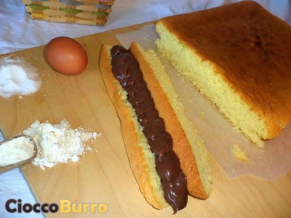 pan di spagna (ricetta veloce)