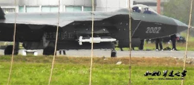 J-20 With PL-13 Missile