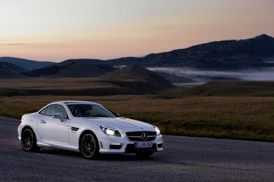 wallpaper 2012 Mercedes SLK 55 AMG