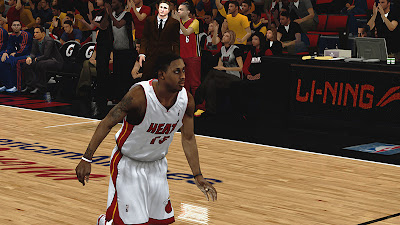 NBA 2K13 Mario Chalmers Face Update Playoffs