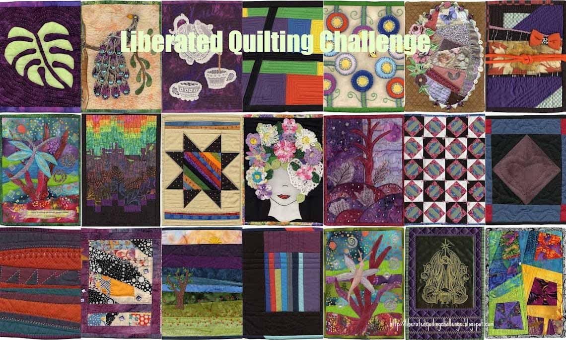 AAQI Liberated Quilting Challenge