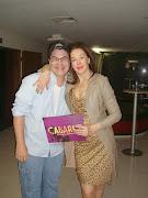 Claudia Raia e Vinny