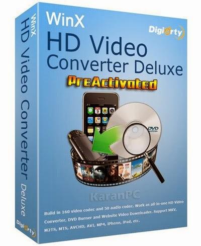 WinX HD Video Converter Deluxe Free