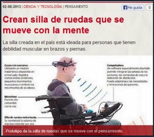 silla de ruedas que se mueve con la mente santurtzi con