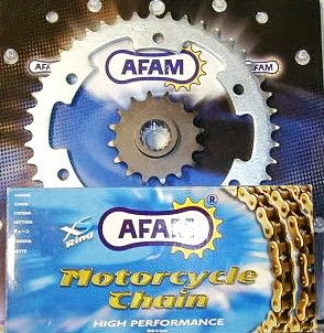 AFAM SPROCKET SET