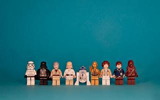 Lego Star Wars Characters HD Desktop Wallpaper