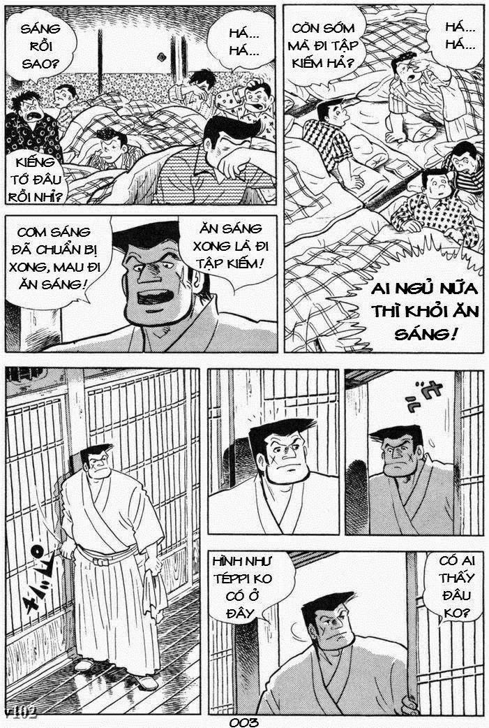 Siêu quậy Teppi chap 105 - Trang 4