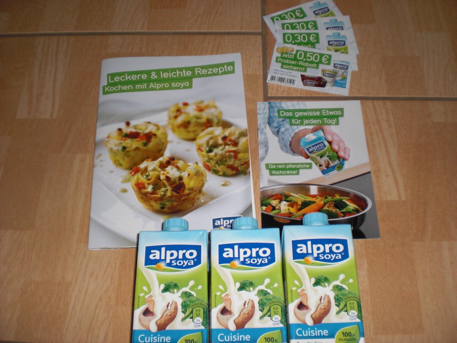 Kati 39 s testworld alpro soya for Alpro soya cuisine