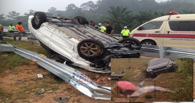 Sayu : Mayat bergelimpang dalam kemalangan ngeri di LPT2 Pagi tadi [5 GAMBAR]