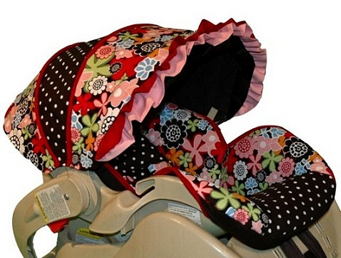 baby car seat slipcover pattern sewing patterns for baby. Black Bedroom Furniture Sets. Home Design Ideas
