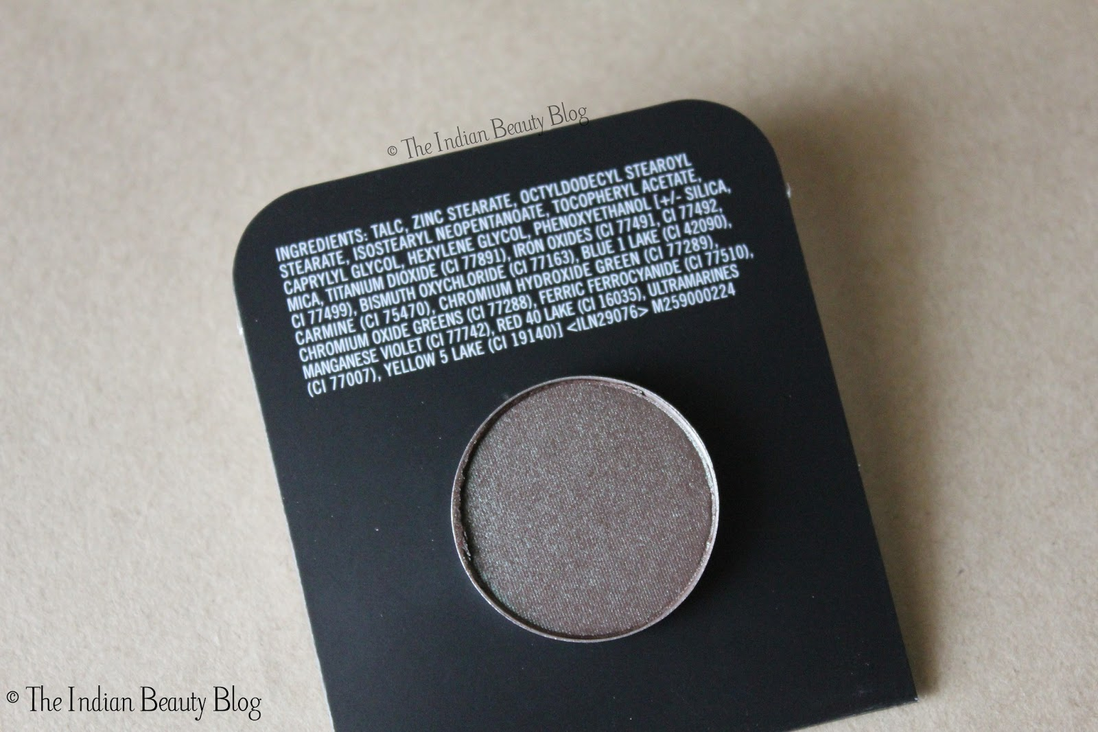 M.A.C. Eyeshadow (Refill)- Club: Review, swatches, EOTD, FOTD ...