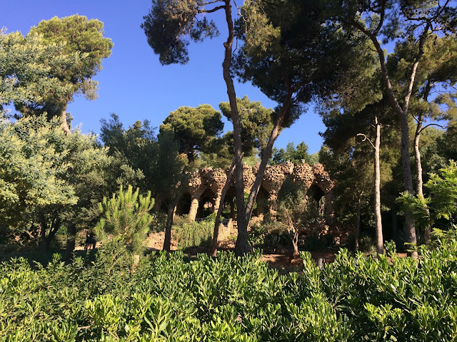 Park Guell, Barcelona, Spanyol, Eropa, Travelling, Wisata, Antoni Gaudi