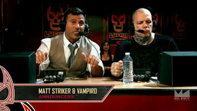 Lucha Underground commentary team