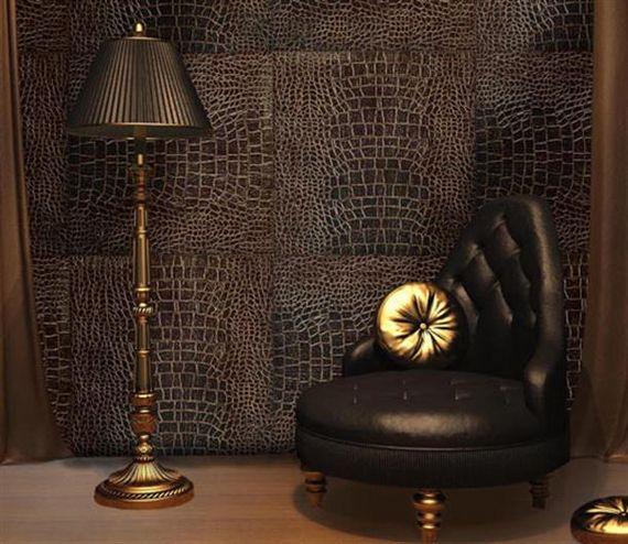 Interior and architectural design wall treatments in interior design - Cool wall treatments ...