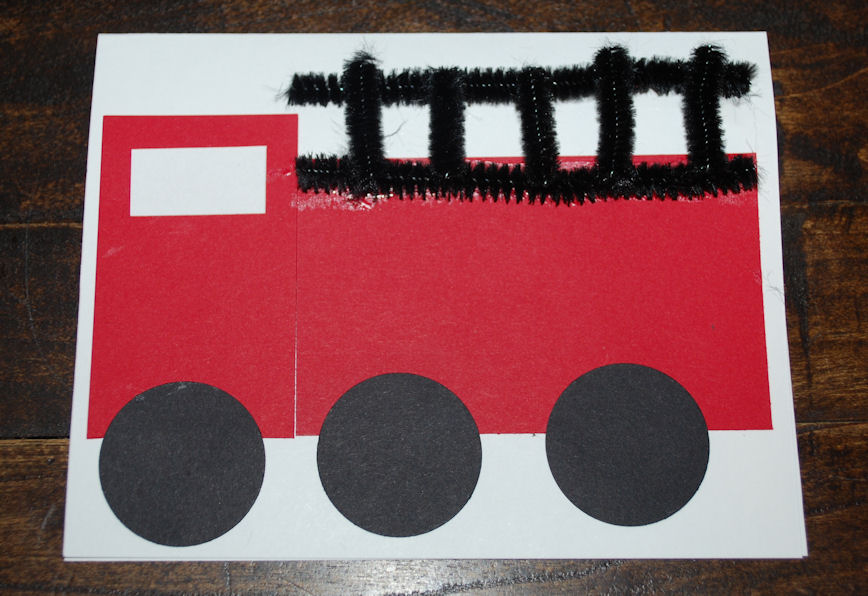 Fire Truck Craft Preschool http://www.oneartsymama.com/2011/10/stop-drop-and-roll.html