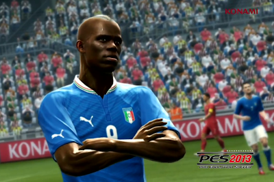 Balotelli celebration Player ID PES 2013 Free Download Game PES 2013 PC Full Version