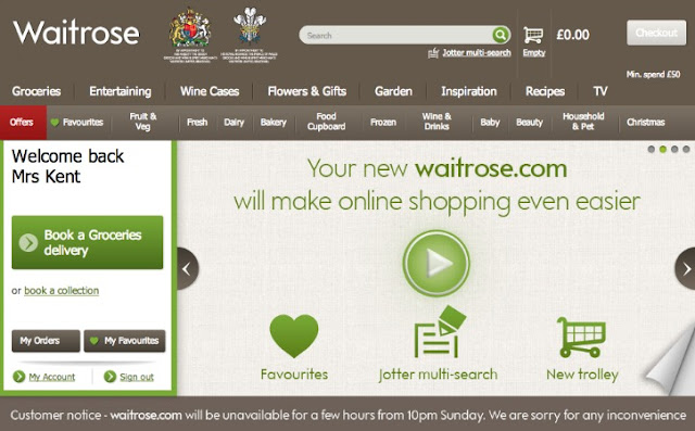 waitrose website