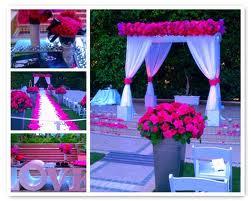 Wedding Inspirations: Fuschia, Purple, and Grey Wedding