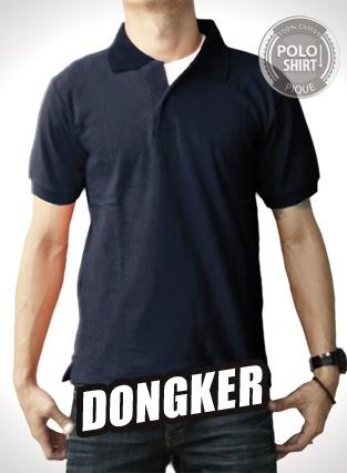 Polo Shirt Polos Biru Dongker