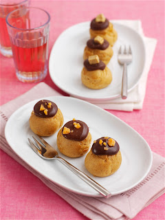 Tesco Billionaires and Chocolate Orange Crunch Profiteroles