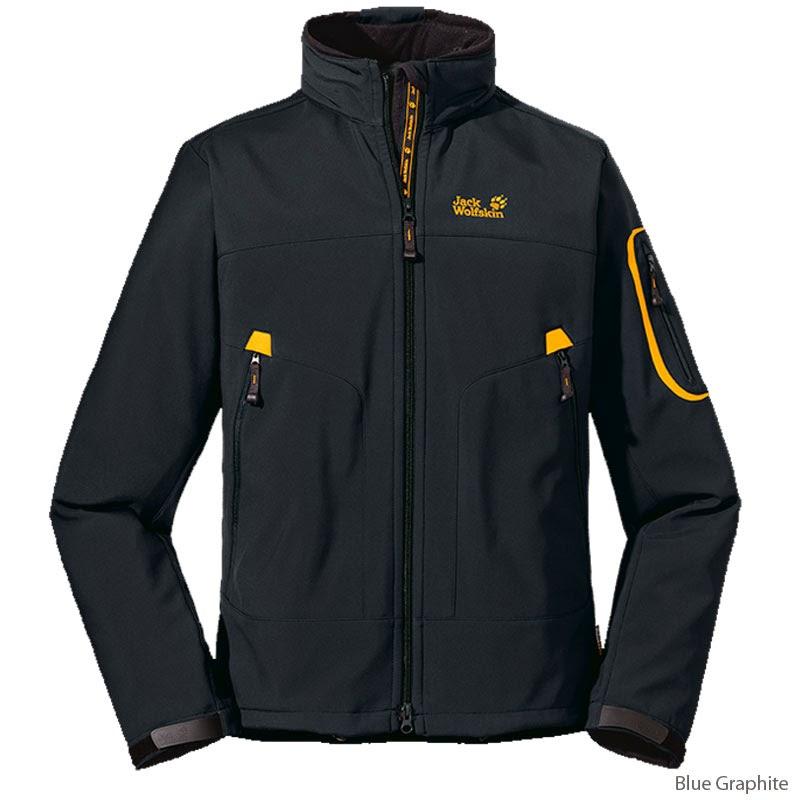 Jacket Jack Wolfskin Warna Hitam