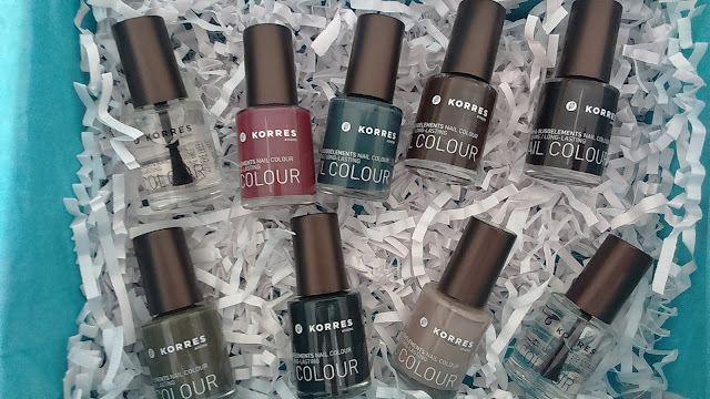 Korres Nail Colour Limited Edition Fall 2015 Collection
