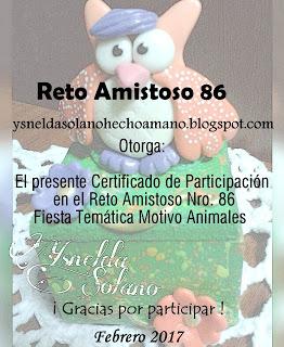 CERTIFICADO Nº 86