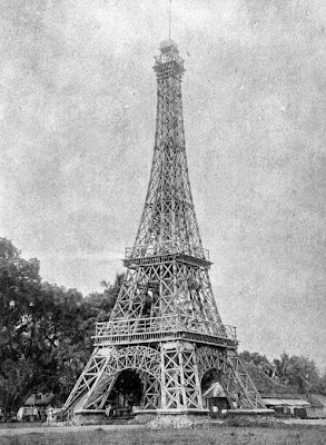Eiffel Tower in Indonesia