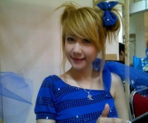 Jessyca Stefani Auryn (Auryn Chibi) Cute With Blue Dress