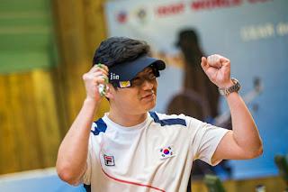 Jin Jongoh - Coréia do Sul - Pistola de Ar - Copa do Mundo ISSF de Tiro Esportivo 2013