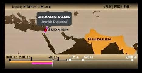 5.000 χρόνια θρησκευτικής ιστορίας μέσα σε δύο λεπτά [Βίντεο]
