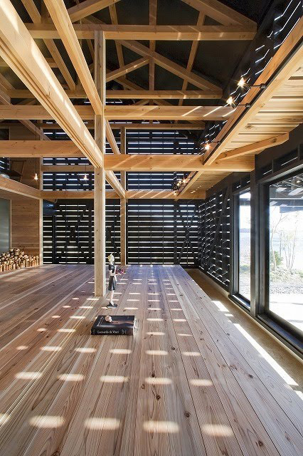 Novus studio barn style home design by japanese for Home architecture firms