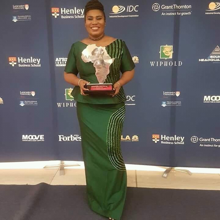 CONGRATULATIONS: CONGRATULATIONS TO THE ALL AFRICAN BUSINESS WOMAN OF THE YEAR, MRS TOYIN SANNI