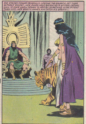 John Buscema should've painted that on a van, or an album cover. That tiger is pissed...