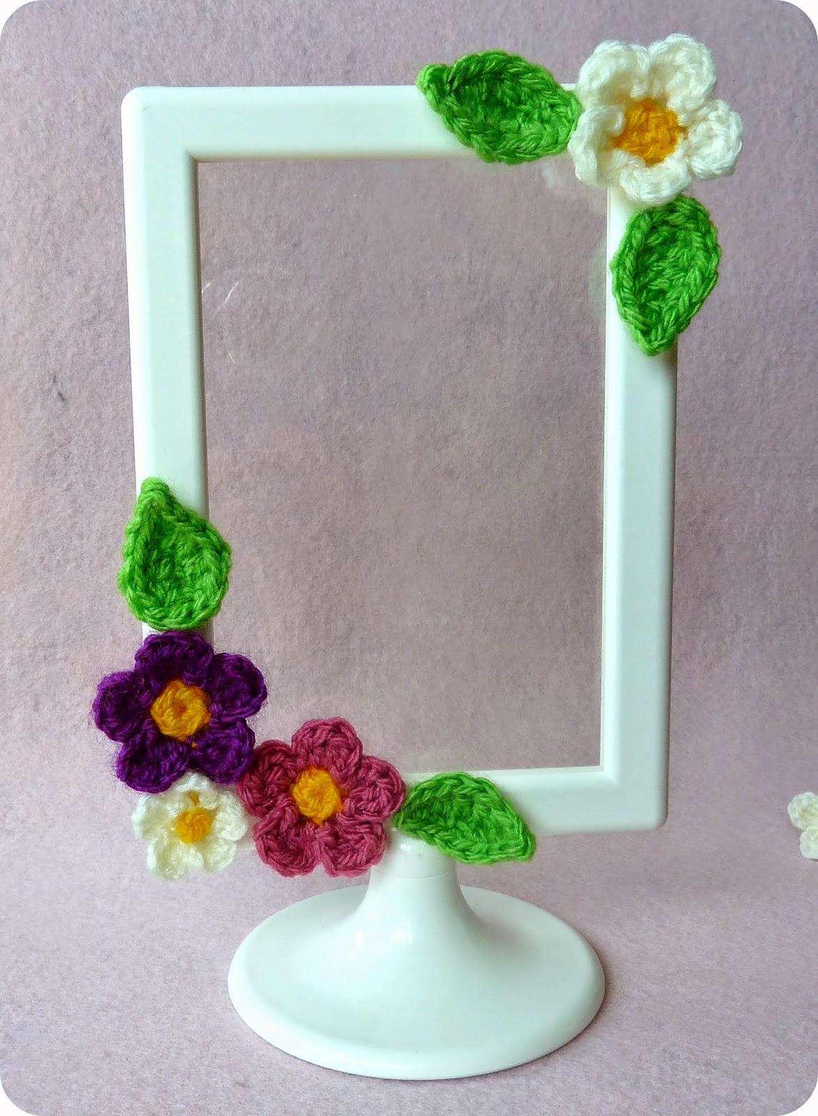 Mi mundo de baldosas amarillas: DIY Marco florecillas ...