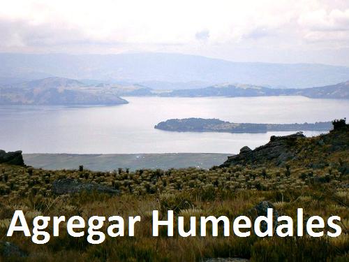 Agregar Humedales