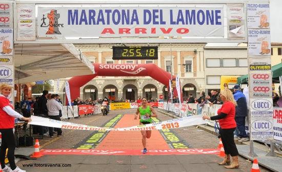 Maratona Arrivo 1° Donna
