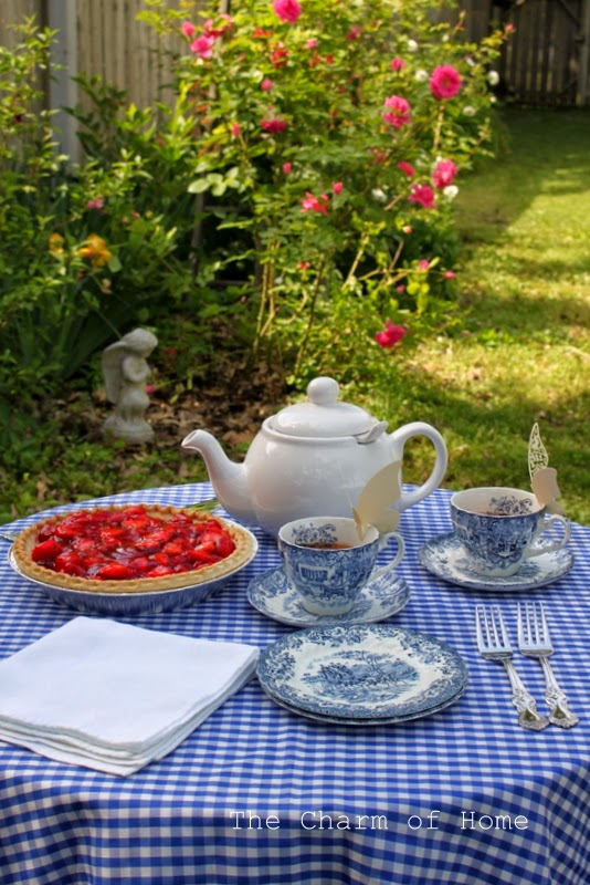 The Charm of Home: Tea in the Garden