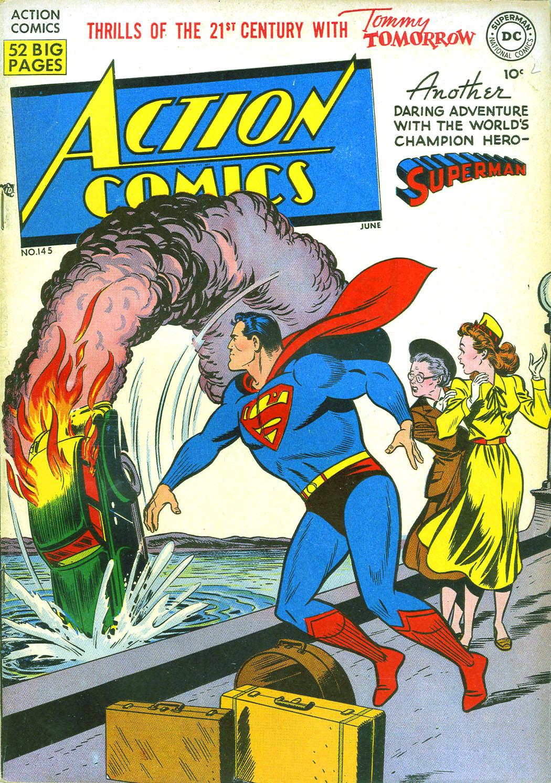 Action Comics (1938) 145 Page 1