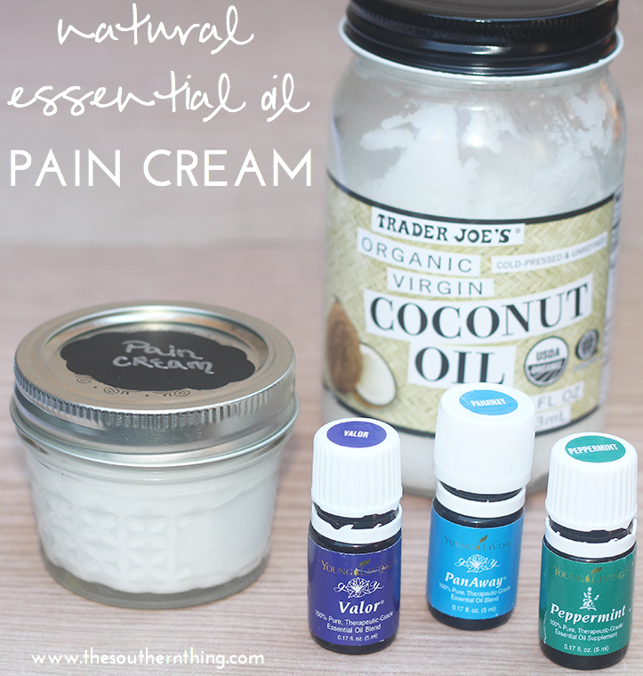 DIY Natural Essential Oil Pain Cream Recipe