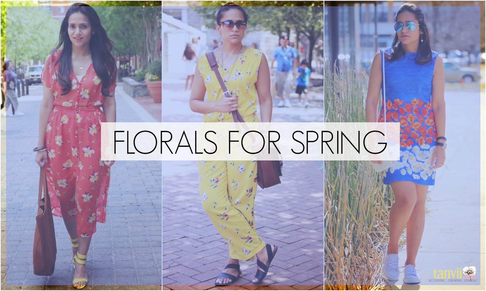 Florals For Spring, Trend 2015, Tanvii.com