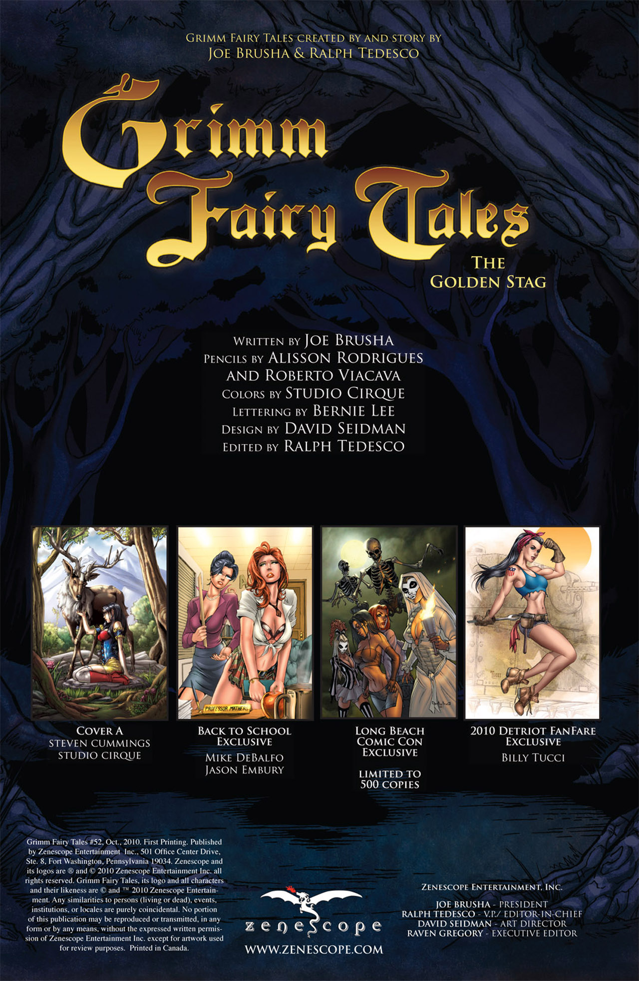 Grimm Fairy Tales (2005) Issue #52 #55 - English 2