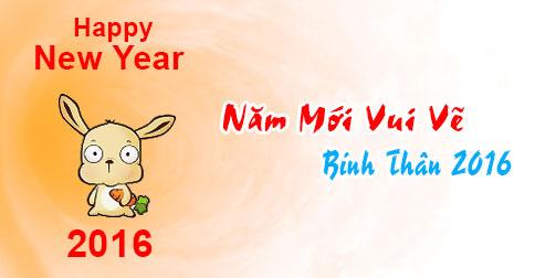 Ảnh chúc năm mới vui vẻ dễ thương nhất 2016 - ảnh 3