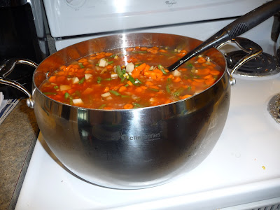 {I Think I Can}:  Vegetable Soup in the Pressure Cooker