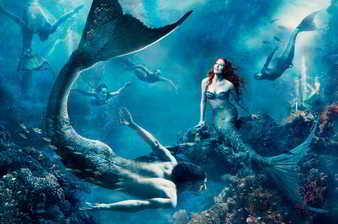 Sirenas y tritones
