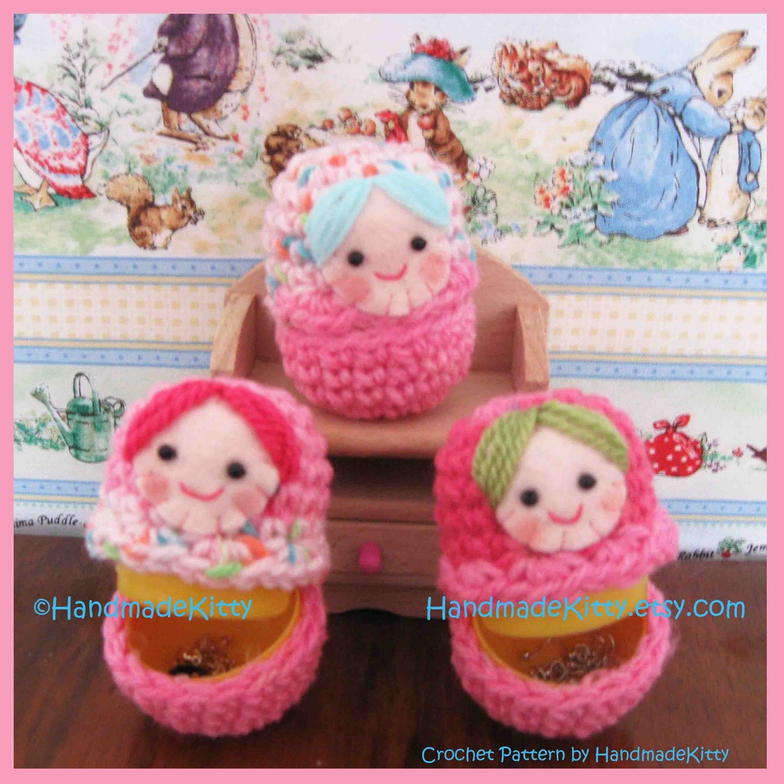 HandmadeKitty: Free Matryoshka Russian Doll Cases Crochet ...