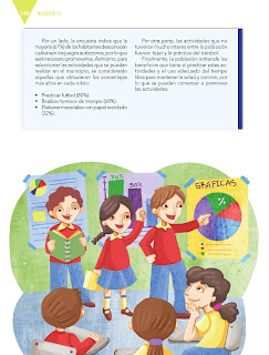 Apoyo Primaria Español 5to grado Bloque IV lección 12 Reportar una encuesta