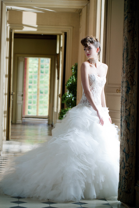 Preview collection robes de mariée Cymbeline 2014  Tout pour mon ...