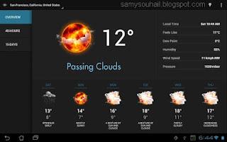 تطبيق Eye in the Sky للتفاعل مع المناخ ورصد النشرة الجوية بالتفصيل